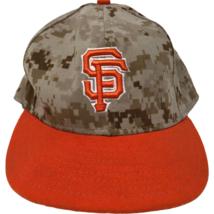San Francisco Giants New Era On Field Digital Camo Fitted Hat 7 1/8 Camo... - $39.59