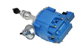 BBF Ford 351C 429 460 V8 Coil Hei Distributor 50,000 50k Volt w/ Blue Cap image 3