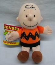"Wendy's Peanuts Cute Mini Charlie Brown 5"" Plush Stuffed Animal Toy New - $14.85"