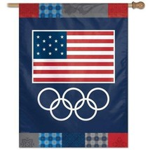 Win Craft Official Team Usa Olympics Vertical Flag - $17.75