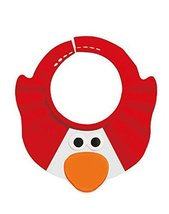 Creative Cartoon Children's Bath Cap / Shower Hat Can be Adjusted Red Penguin