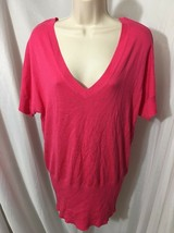 #348–. H&M Pink Knit Top, Size M - $9.95