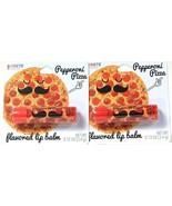 2 Ct Taste Beauty 0.12 Oz Pepperoni Pizza Flavored Lip Balm Smiles You C... - $10.99
