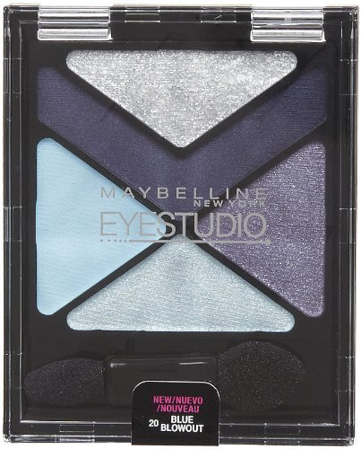 Maybelline New York Eye Studio Color Explosion Luminizing Eyeshadow Blue Blowout