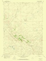 Mc Rae Gap Wyoming Quad - USGS 1959 - 23 x 30.61 - $36.95+