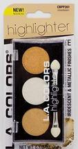 L.A. Colors Highlighter Palette, Moonbeam - $5.95