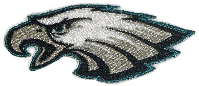 Primary image for Philadelphia Eagles Logo  Iron On Patch