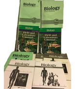 Abeka Biology Third Edition 3e. Student Teacher Set Lot Lab Quiz Tests Video Man - $74.24