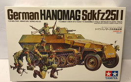 Tamiya America Inc 1/35 German Hanomag SdKfz New - $18.99