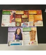 Lot of 5 Creative Machine Embroidery Magazines 2009-2010 - $13.45