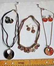 (3) Sets Necklace & Earring Sets Croft & Barrow - $6.00