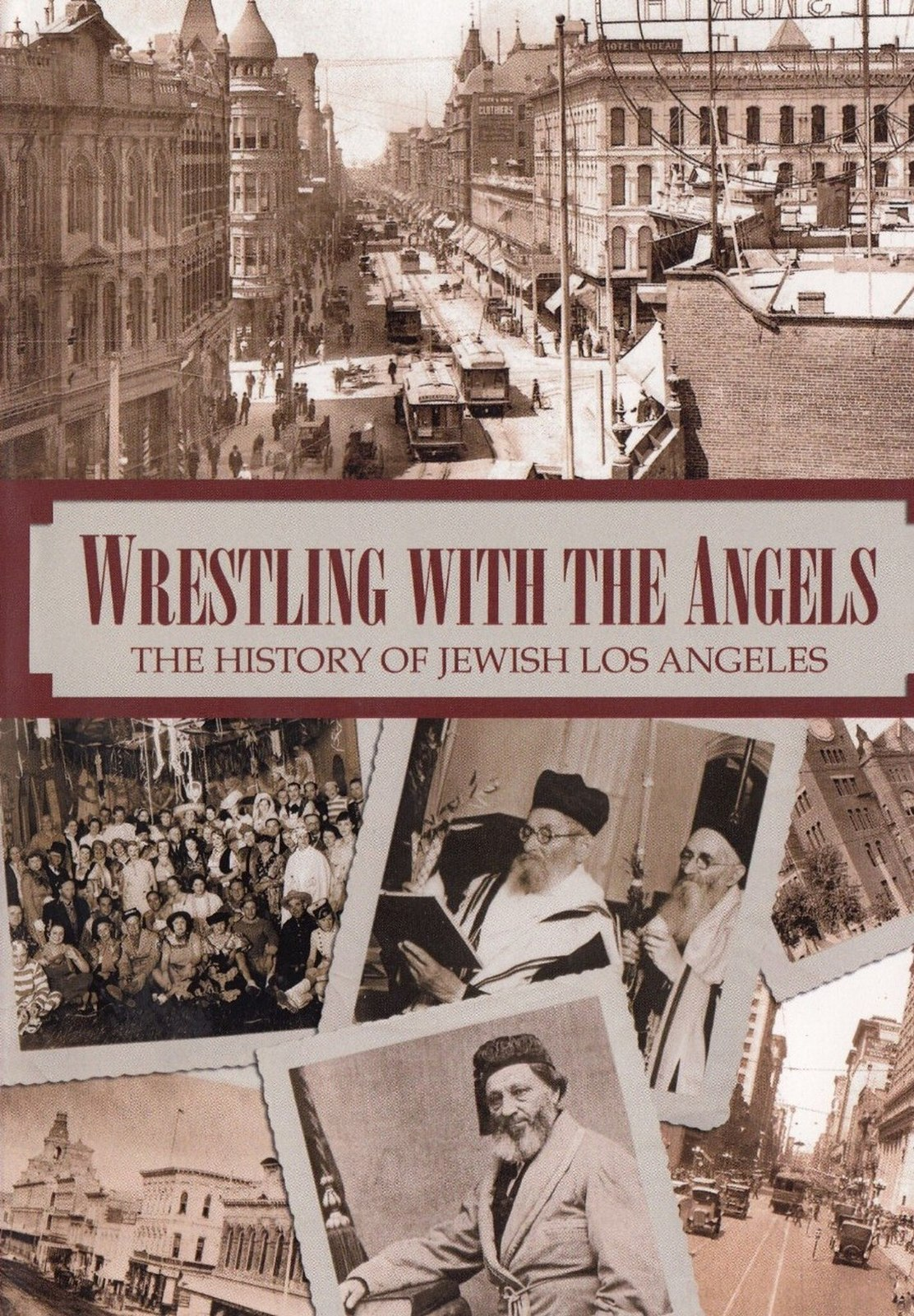 Primary image for Wrestling With Angels DVD History of Jewish Los Angeles from 1850