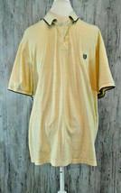 Chaps Ralph Lauren Big and Tall Cotton Yellow Short Sleeve Golf Polo Sh... - $18.55