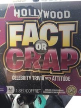 Hollywood Fact Or Crap Board Game SEALED. New - $14.01