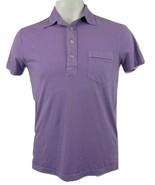 Polo Ralph Lauren Pony Polo Shirt Men's Small Front Pocket Lavender 100%... - $44.50
