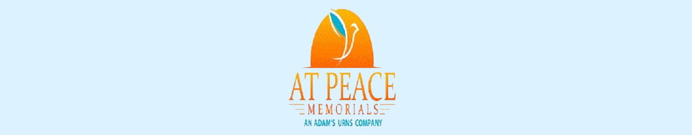 Peace Memorial logo with sun rising behind the words