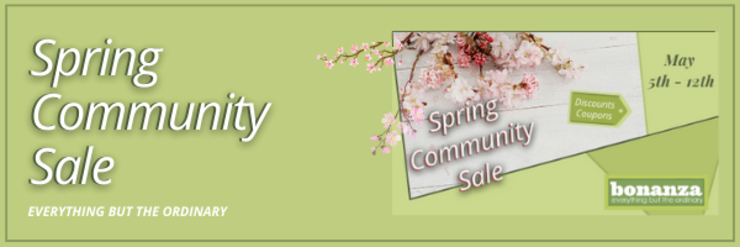 image of spring sale