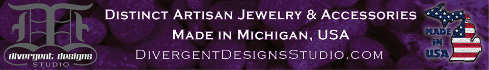 A welcome banner for Divergent Designs Studio