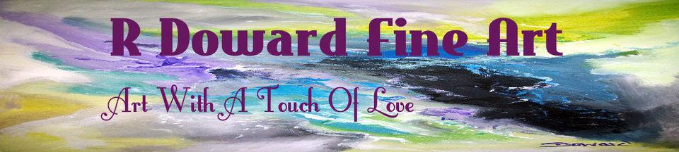 A welcome banner for rdoward fine art