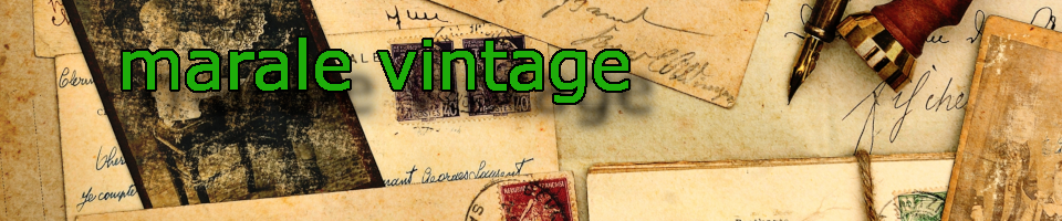 A welcome banner for marale vintage