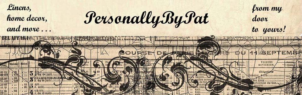 A welcome banner for PersonallyByPat's Boutique