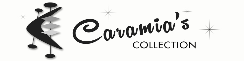 A welcome banner for Caramia's Collection