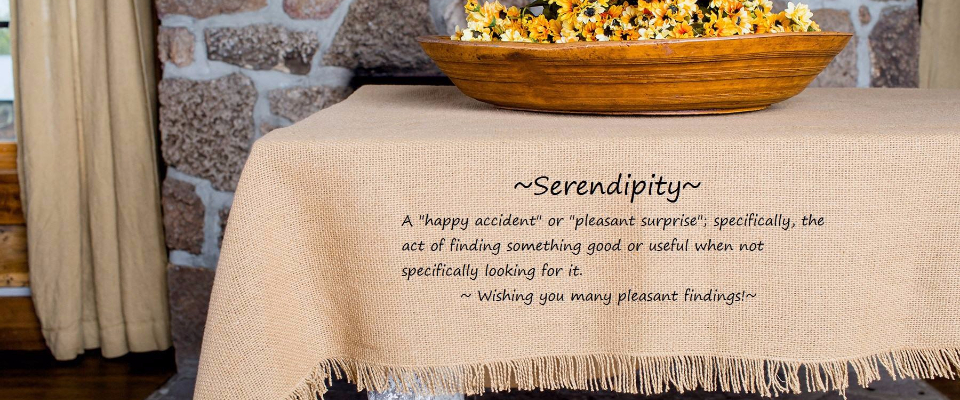 A welcome banner for Serendipity Upscale Resale