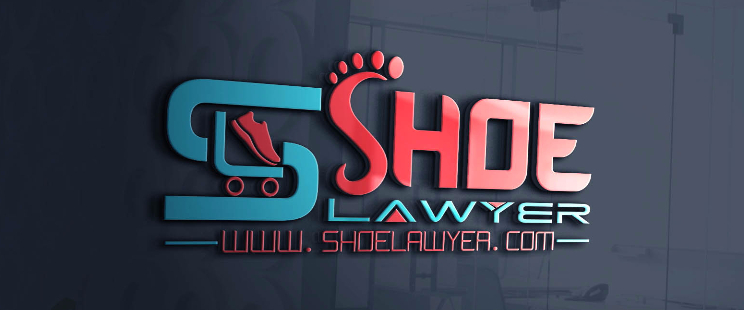 A welcome banner for SHOE LAWYER
