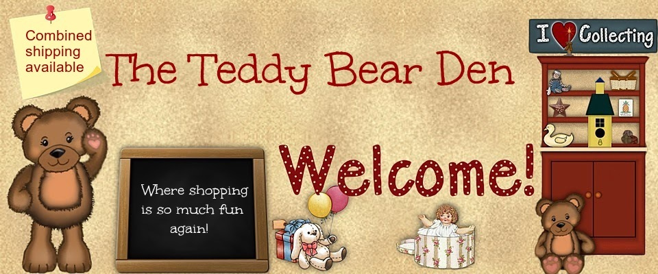 A welcome banner for The Teddy Bear Den