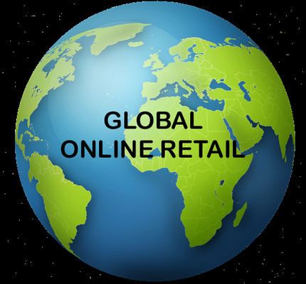 A welcome banner for Global Online Retail Inc.