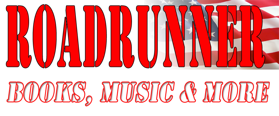 A welcome banner for Roadrunner Books. Music & More