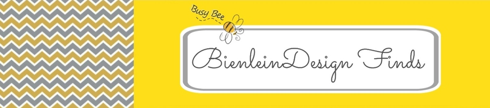 A welcome banner for BienleinDesign Finds