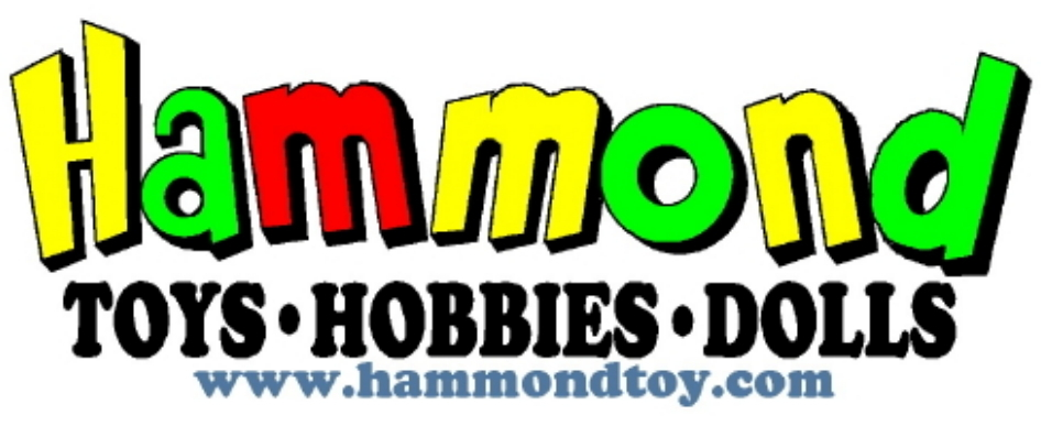 A welcome banner for Hammond_Toys_Hobbie_Dolls