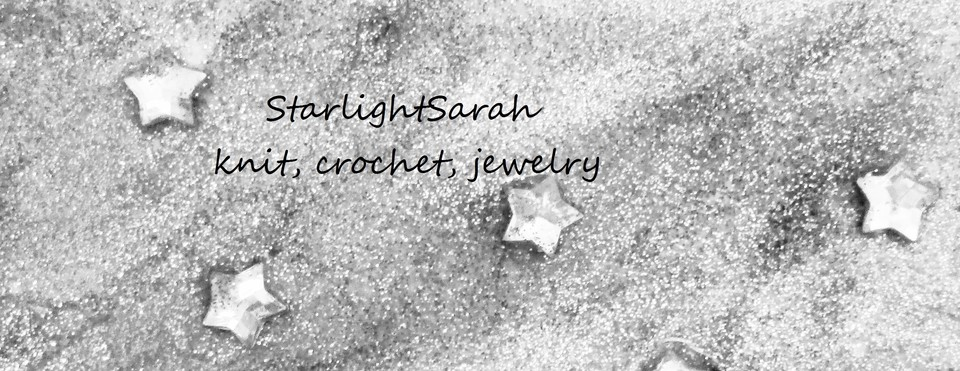 A welcome banner for StarlightSarah Handmade