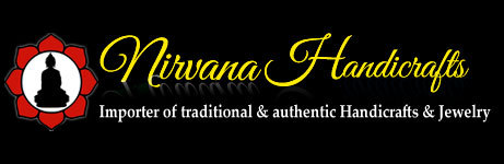 A welcome banner for NIRVANA's store