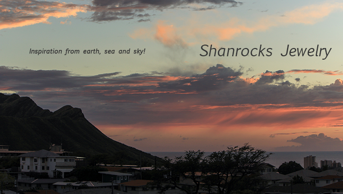 A welcome banner for Shanrocks Jewelry