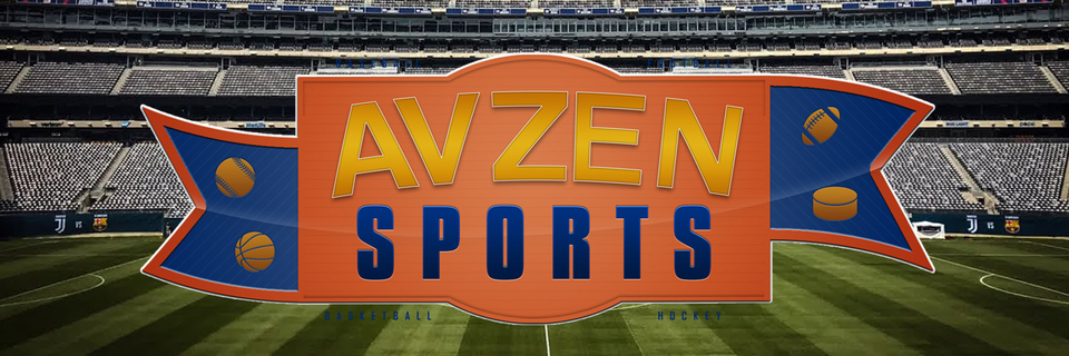 A welcome banner for AVZEN Sports Trading Cards