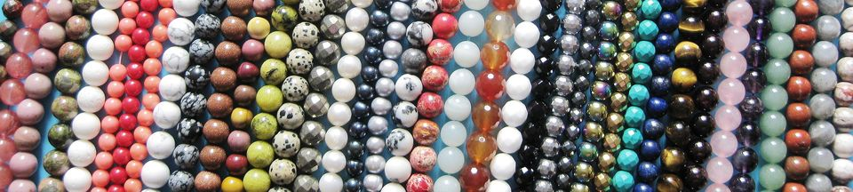 """A welcome banner for jennysun2010's booth """"Beauty and the Beads"""""""