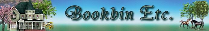 A welcome banner for Bookbin Etc Country Variety