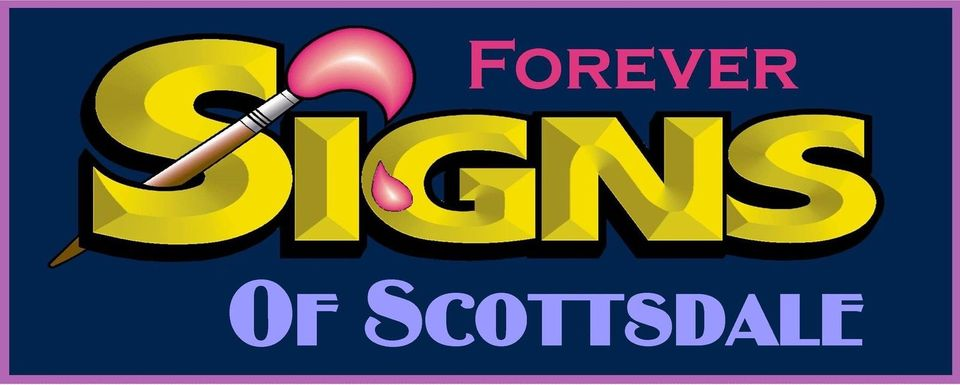 A welcome banner for Franks Cool Signs
