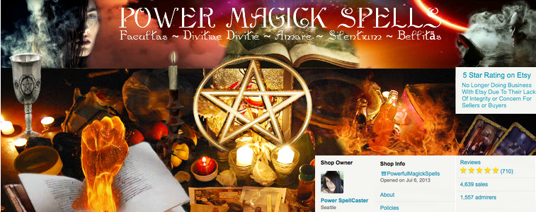 A welcome banner for HighPowerMagicSpells Where The Magic Really Happens!