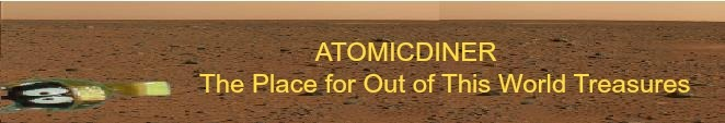 A welcome banner for Atomicdiner