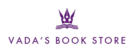 A welcome banner for vada's book store