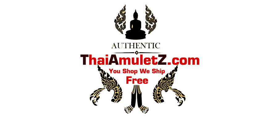 A welcome banner for thaiamuletz.com