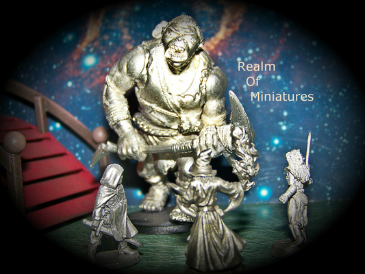 A welcome banner for Realm Of Miniatures and Matchbooks