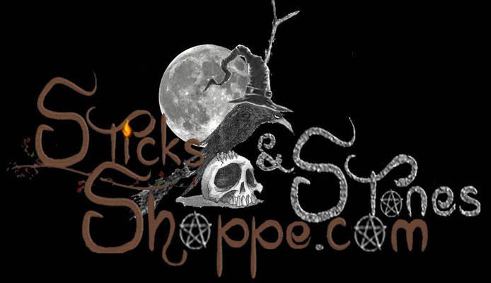 A welcome banner for Sticks and Stones Shoppe