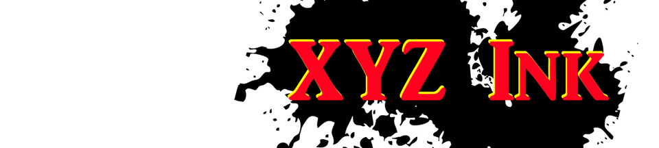 A welcome banner for XYZ Ink
