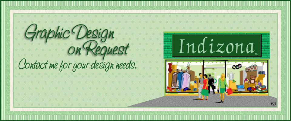 A welcome banner for Indizona