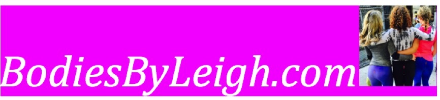 A welcome banner for Bodiesbyleigh