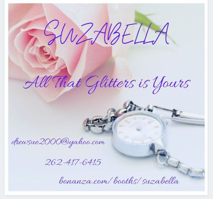 A welcome banner for SUZABELLA